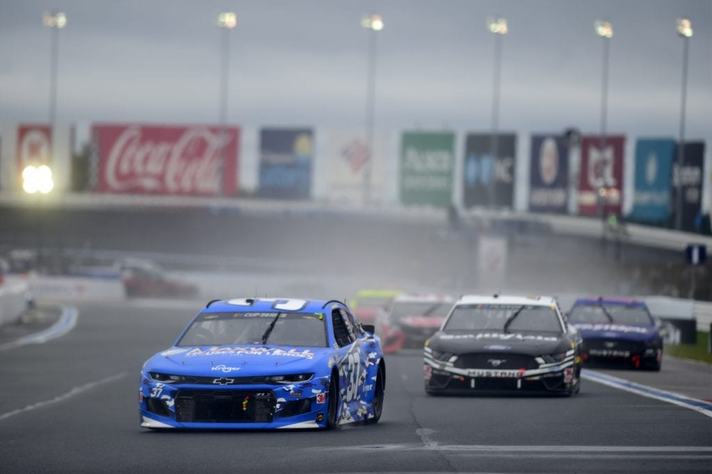 CONCORD, NORTH CAROLINA - OCTOBER 11: Ryan Preece, driver of the #37 Maxwell Houses for Heroes Chevrolet, drives during the NASCAR Cup Series Bank of America ROVAL 400 at Charlotte Motor Speedway on October 11, 2020 in Concord, North Carolina. (Photo by Jared C. Tilton/Getty Images) | Getty Images