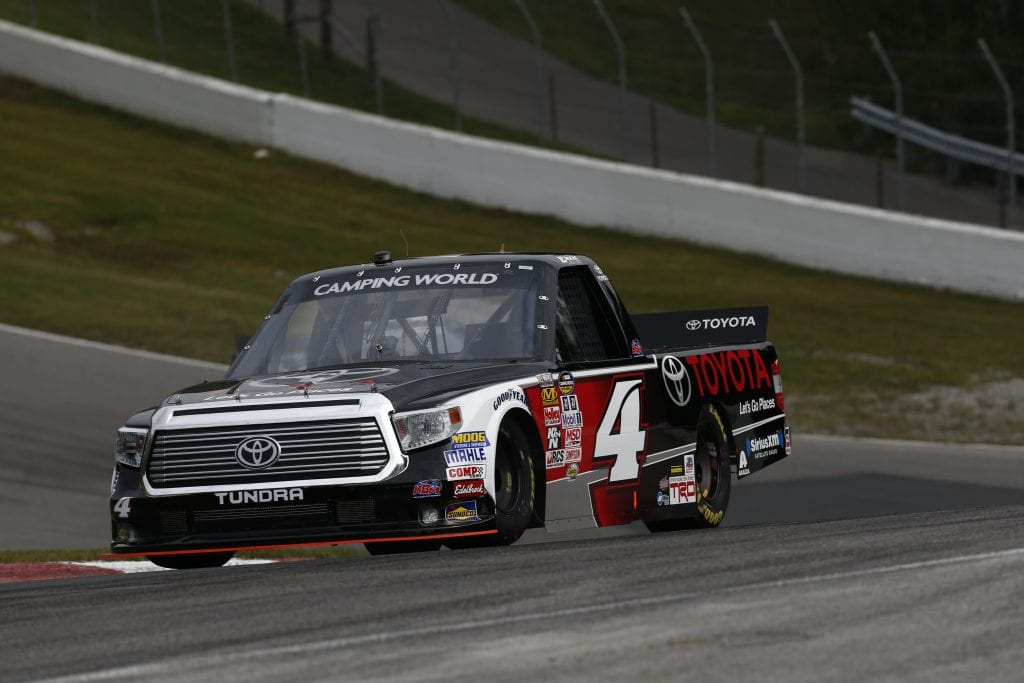 BOWMANVILLE, ON - AUGUST 29:  at Canadian Tire Motorsport Park on August 29, 2015 in Bowmanville, Ontario, Canada.  (Photo by Jeff Zelevansky/NASCAR via Getty Images)