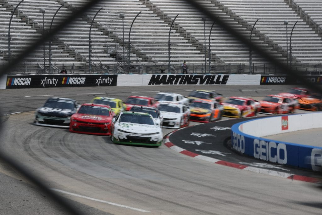 MARTINSVILLE, VIRGINIA - APRIL 11: <>during the NASCAR Xfinity Series Cook Out 250 at Martinsville Speedway on April 11, 2021 in Martinsville, Virginia. (Photo by James Gilbert/Getty Images) | Getty Images
