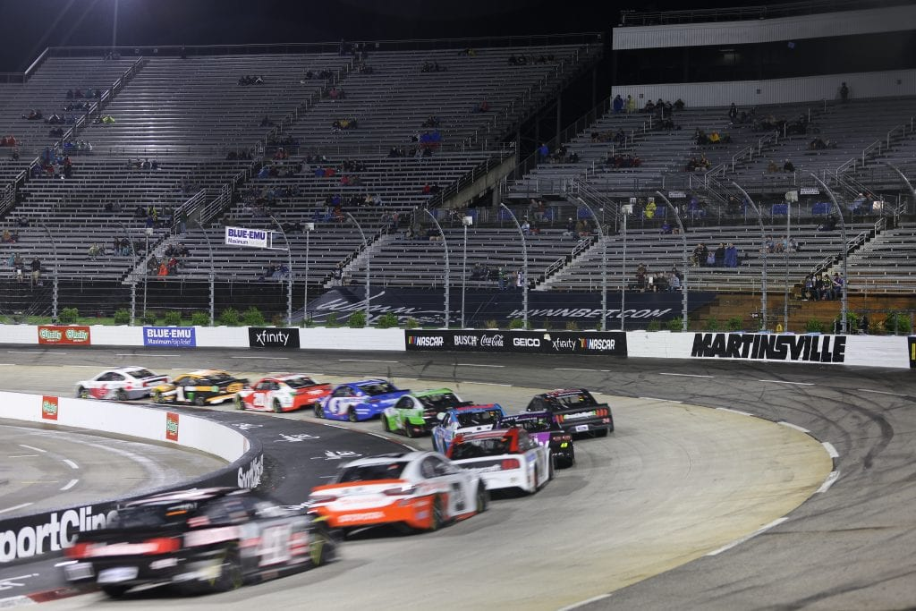 MARTINSVILLE, VIRGINIA - APRIL 10: <>during the NASCAR Cup Series Blue-Emu Maximum Pain Relief 500 at Martinsville Speedway on April 10, 2021 in Martinsville, Virginia. (Photo by James Gilbert/Getty Images) | Getty Images